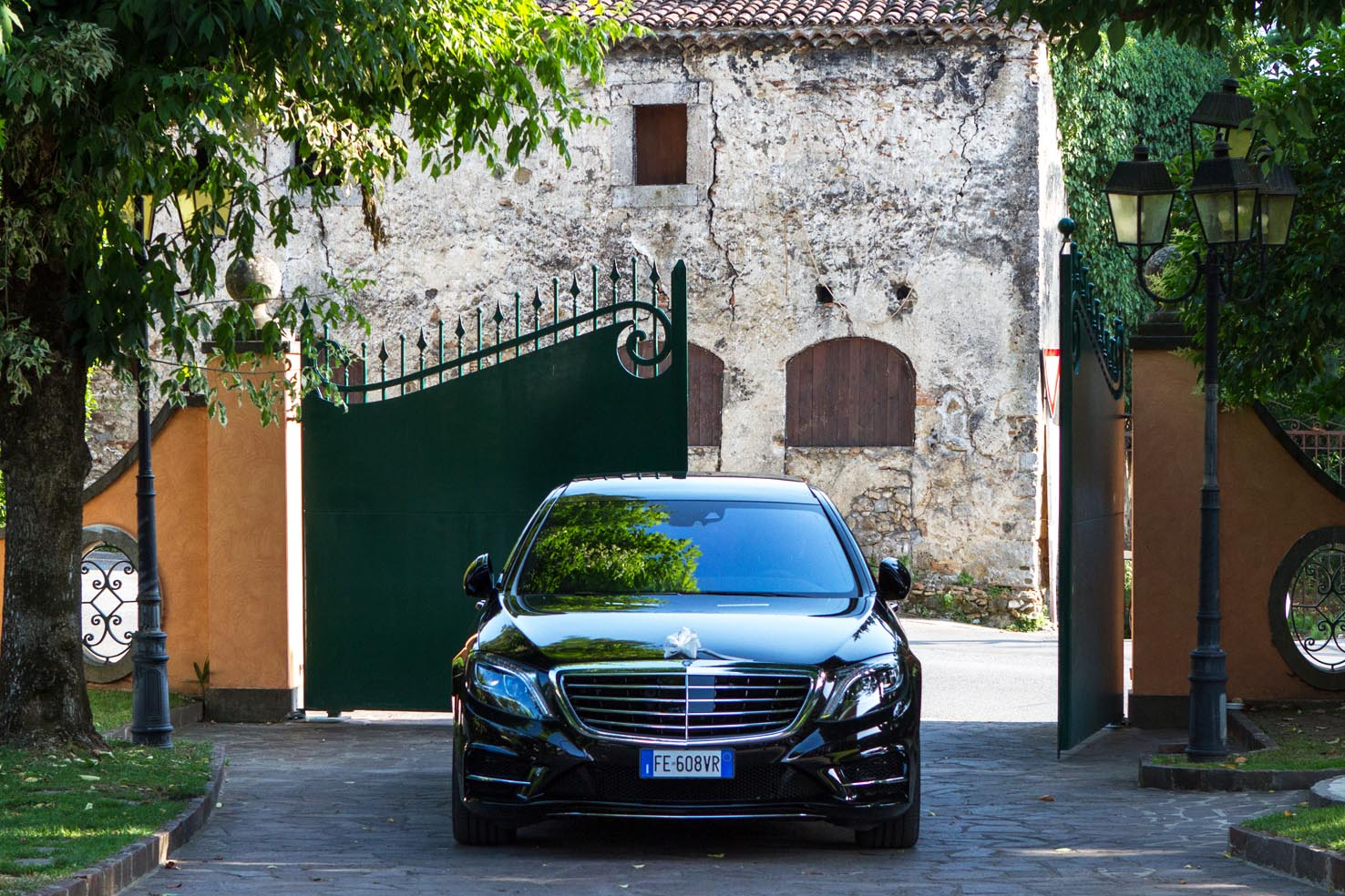 Luxury Transportation In Rome S Class Mercedes